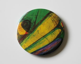 The Very Hungry Caterpillar, Compact MIRROR, Pocket Mirror, Eric Carle, Makeup mirror
