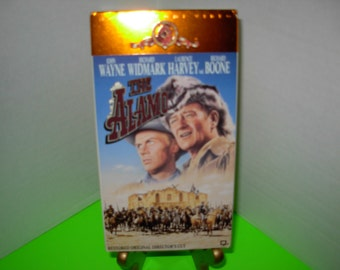 The Alamo, VHS Tapes, John Wayne, Richard Widmark, In Color, Free Shipping