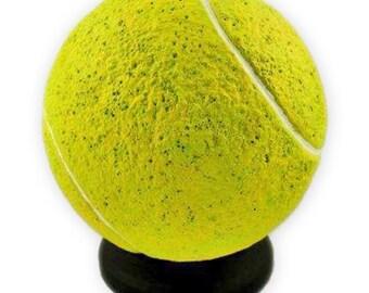 Tennis Ball Pet Memorial, Tennis Ball Urn, Yellow Tennis Ball, Tennis Memorial