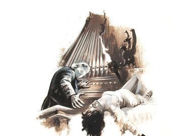 The Phantom of the Opera (1925) Movie Poster