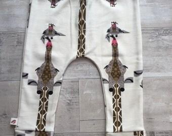 Giraffe organic baby leggings by RBLeggings
