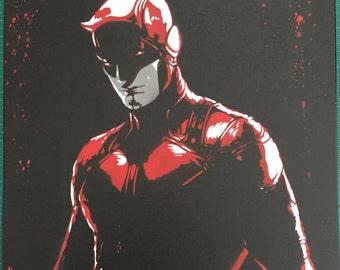 Daredevil canvas art!