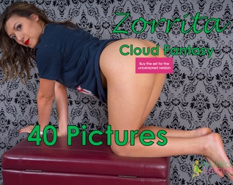 Zorrita - Cloud Shirt - (Mature, Contains Nudity) - 40 Pictures