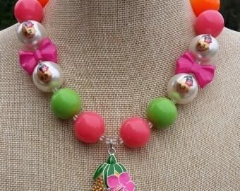 Shopkins Pineapple Crush Necklace