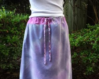 Lavender Tie-Dye Skirt