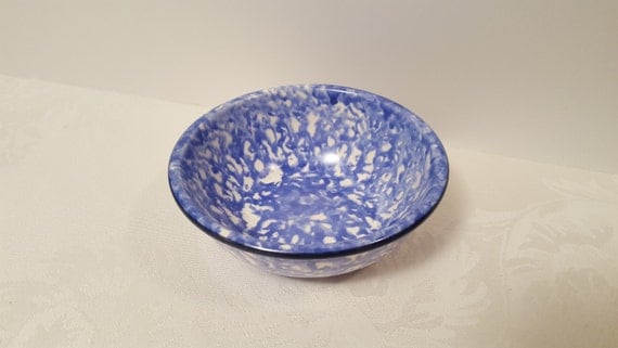 Stangl Blue Town & Country 5.75'' Soup / Cereal Bowl #5287