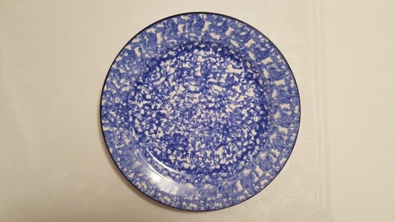 Stangl Blue Town & Country 12'' Chop Plate #5287