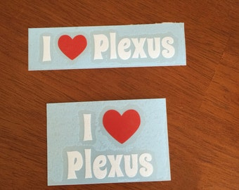 I Heart Plexus Decal Only - CUP NOT INCLUDED