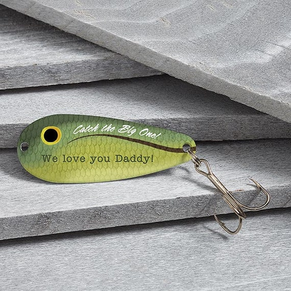 Big catch personalized fishing lure for Engraved fishing lures