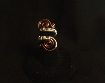 Adjustable Wire Wrapped Rings