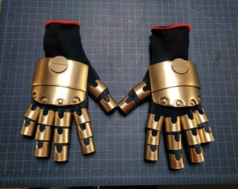 Robotic Hands Steampunk Costume Mechanical Gloves Cosplay Accessory