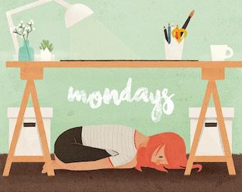 Mondays – A6