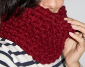 """Snood style """"chunky"""", taille unique ( homme / femme / ado )"""