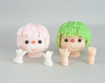 Doll Making Plastic Doll Heads and Hands