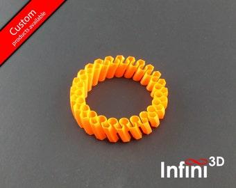 Flexible and reversable bracelet - Bracelet flexible et réversible