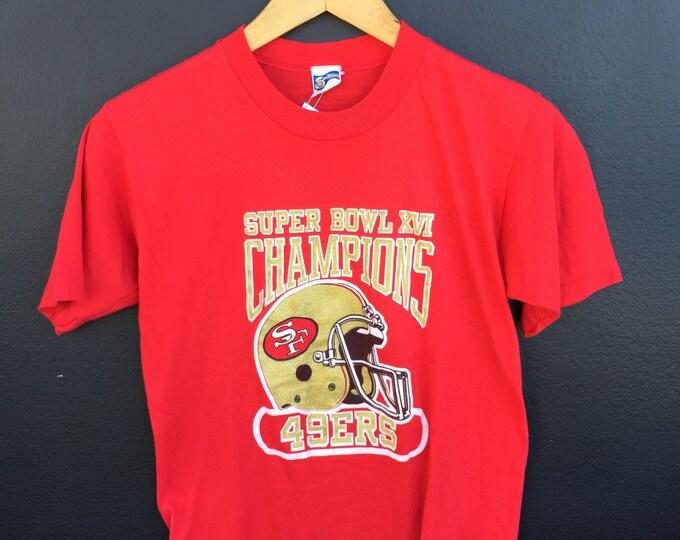 San Francisco Forty Ninera 49ers 1982 Vintage Tshirt