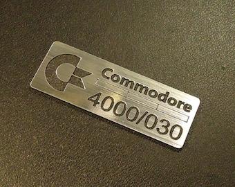 Commodore Amiga 4000/030 Label / Logo / Sticker / Badge 42 x 15 mm [271]
