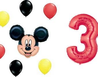 Minnie number 3 etsy for Number 3 decorations