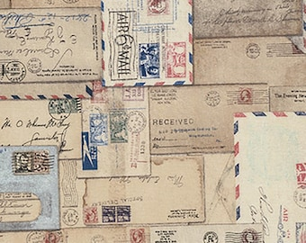 1/2 yd Eclectic Elements Letter by Tim Holtz for Coats & Clark PWTH048-8NEU