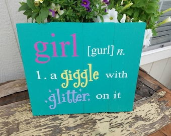 Girl Wall Hanging
