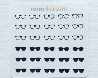 Geek To Chic Sunglasses Stickers