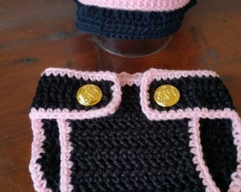 USMC Baby Girl Dress Blues Set *Made to Order*