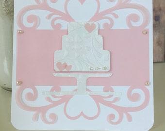 Handmade Wedding or Bridal Shower Card