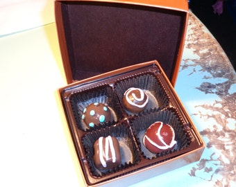 Candy-- Dark Chocolates Box sculpture