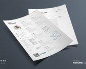 Simple Resume Vol. 2 | Word and Indesign Template | Professional and Creative CV Resume Design
