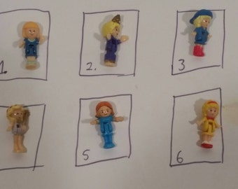 Choose 1: Polly Pocket Doll