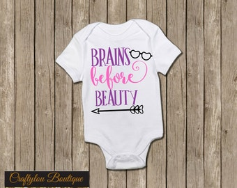 Brains before Beauty Shirt