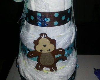 Themed Diaper Cakes ( you choose theme)