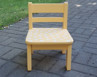 Hand Painted Kids Chair