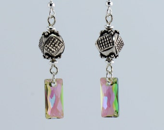 Bali Silver Paradise Dangle Earrings - E2656