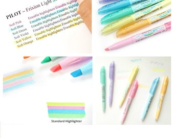 Frixion Pastel Highlighter: Choose 2 or more