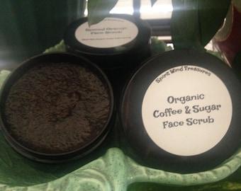 Organic Coffee & Sugar Face Scrub