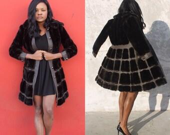 Vintage Fur Coat-Tissavel France by  Denise Originales