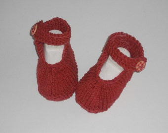 Baby shoes - baby shoes - ballerinas - SL 8 cm - shoes - push - handmade - gift - newborn - first shoes