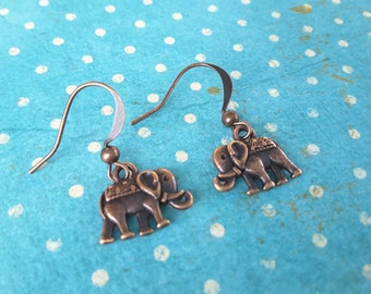 Copper Elephants