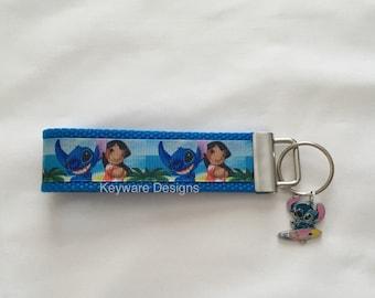 Stitch Key Fob Keychain