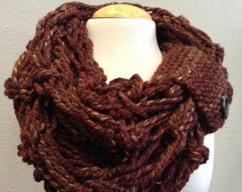 Arm Knit Infinity Wrap
