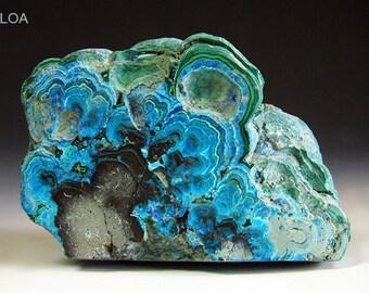 Colorful Azurite Malachite Chrysocolla Mineral Specimen Rough 134g - Free US Shipping!