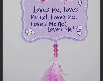 Loves Me Loves Me Not Ornament