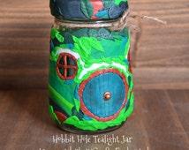 Hobbit Hole Tealight Jar