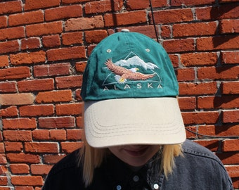 Alaska Embroidered Baseball Cap