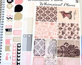 Boudoir Kit -  134 Planner Stickers (Perfect for Erin Condren Life Planners)