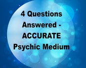Psychic Reading ~ Rev. Brian L. Sharp Angelic Visions LLC ~ 4 Questions Answered Virtual Email Reading ~ Chakra ~ Angel ~ Medium Reading