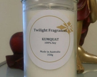 """Scented Soy Candles - """"Choose your own fragrance"""""""