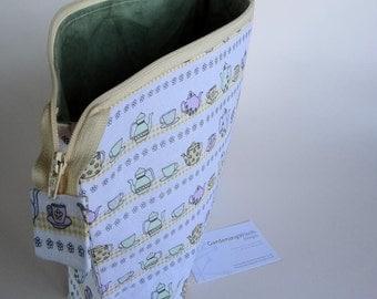 Handmade Large Zip-top Project Bag