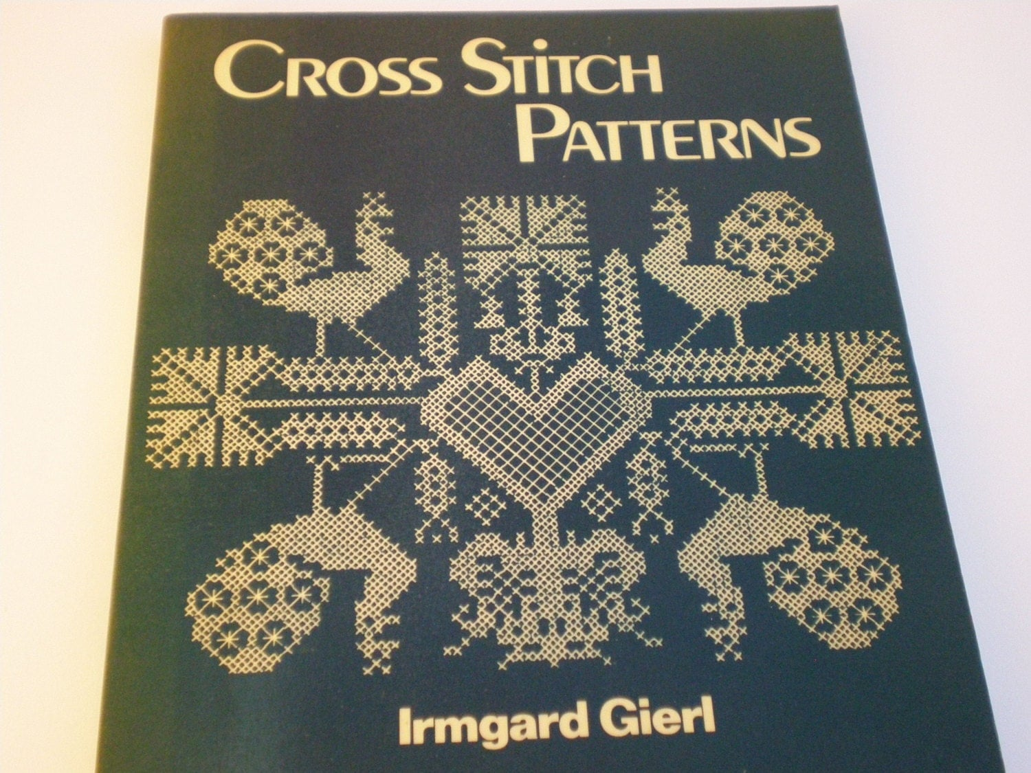 Vintage cross stitch patterns book by irmgard giert gift for